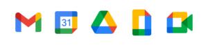 Google Workspace 5 icons